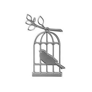 Výsekový nůž - ptaček v kleci