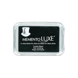 Razítkovací polštářek Memento Luxe - černý