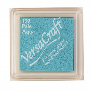 Razítkovací mini polštářek VersaCraft - Pale Aqua