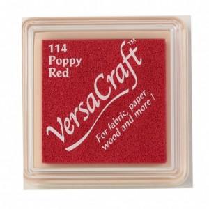 Razítkovací mini polštářek VersaCraft -  Poppy Red