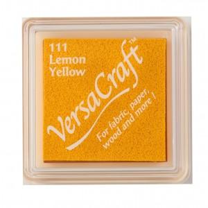 Razítkovací mini polštářek VersaCraft -  Lemon Yellow