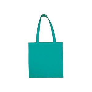 Bavlněná taška 38 x 42 cm,tyrkysová