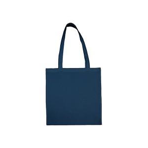 Bavlněná taška 38 x 42 cm, indigo blue