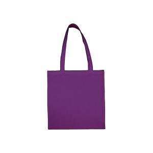 Bavlněná taška 38 x 42 cm, lila