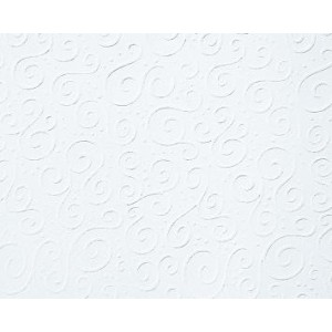 Strukturovaný papír A4 - bílý