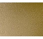 Strukturovaný papír A4 - zlatý