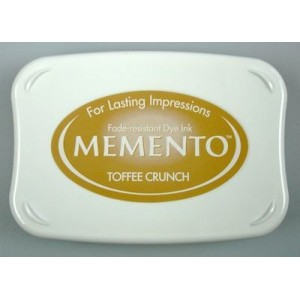 Razítkovací polštářek Memento Tofee Crunch