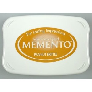Razítkovací polštářek Memento Peanut Brittle