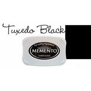 Razítkovací polštářek Memento Tuxedo black