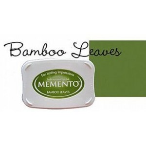 Razítkovací polštářek Memento Bamboo leaves