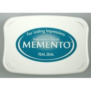 Razítkovací polštářek Memento Teal Zeal