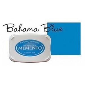 Razítkovací polštářek Memento Bahama blue