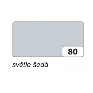 Barevný papír A4, 130 g/m2 - světle šedá