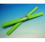 Papír krepový - světle zelený