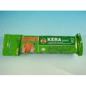 Modelovací hmota KERAplast hnědá, 300 g