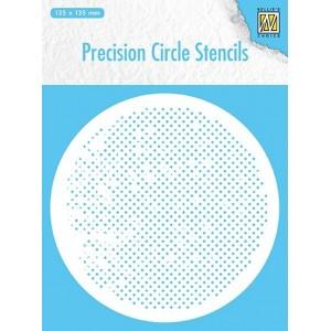 Plastová šablona čtverečky