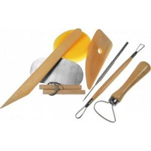Sada modelovacích a hrnčířských nástrojů