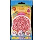Růžové korálky 1000 ks