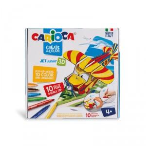 Kreativní sada Carioca Pop-Up, Letadlo