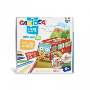 Kreativní sada Carioca Pop-Up, autobus