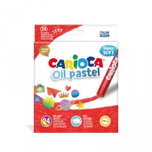Carioca olejové pastely, 24 ks