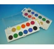 Vodové barvy - 12 barev