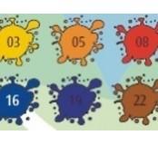 Sada temperových barev 8 x 25 ml – mix barev