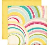 Scrapbookové papíry 30,5 x 30,5 oboustranné s potiskem