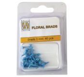 Dekorační mini hřebíčky modré
