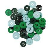 Dekorační knoflíčky Green