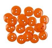 Dekorační knoflíčky Orange