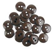 Dekorační knoflíčky Brown