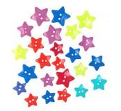 Dekorační knoflíčky Star combo DTM