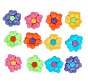 Dekorační knoflíčky Flowers