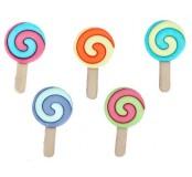 Dekorační knoflíčky Twisted pops