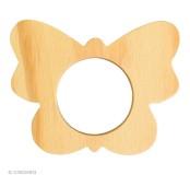 Dřevěná ozdoba na ubrousky motýl