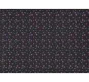 Moosgummi - pěnovka černá, třešně