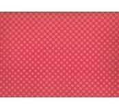 Moosgummi - pěnovka červená, kostičky