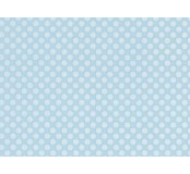 Moosgummi - pěnovka modrá, puntíky