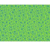 Moosgummi - pěnovka zelená, kvítky