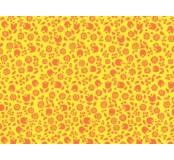 Moosgummi - pěnovka žlutá, kvítky