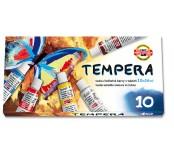Temperové barvy - 10 barev, 16 ml