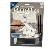 Malování skicovacími tužkami