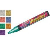 Metalický popisovač - fialová