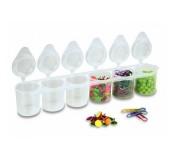 Plastové kelímky 6 x 25 ml