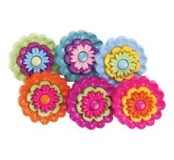 Dekorační knoflíčky Floral Revolution