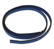 Kůže plochá, 1 m - modrá