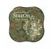 Razítkovací polštářek StazOn - Olive Green