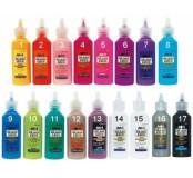 Slupovací barva na sklo 22 ml, fialová