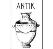 Blok náčrtkový spirálový Antik 130g A4, 25listů